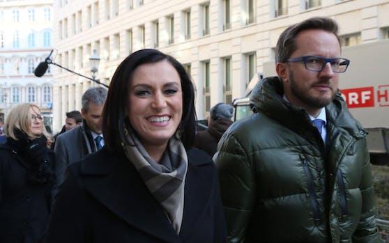 Elisabeth Köstinger mit Partner Thomas Kassl.