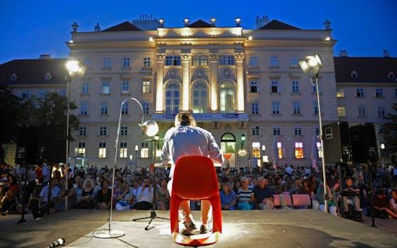 Literaturfestival O-Töne im Wiener MQ