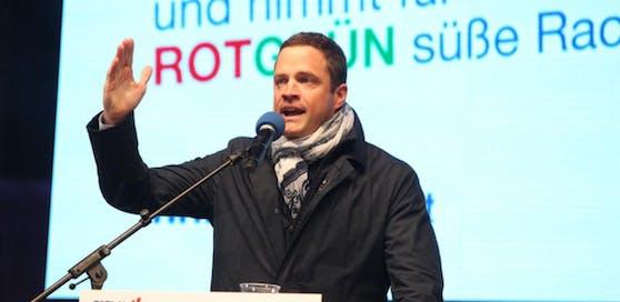 FP-Vizebürgermeister Johann Gudenus.
