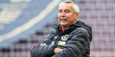 """Pacult vor Liga-Start: """"Ältester Coach? Schon komisch"""""""
