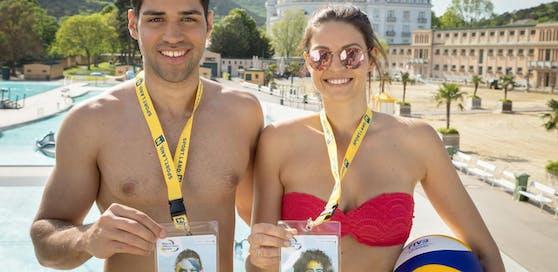 Im Juni steigen die Baden Open  zwei Turniere sind zu sehen: Das CEV Youth Cup Final und die World Tour.