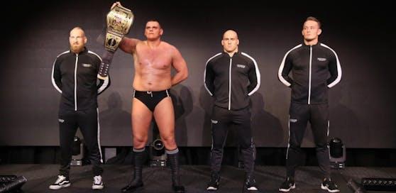 WALTER und seine Imperium-Kollegen treten in Wien an (Foto by WWE)