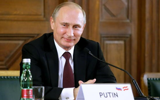 Russlands Präsident Wladimir Putin bei seinem letzten Wien-Besuch im Juni 2014.