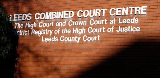 Das Gerichtsgebäude in Leeds. Hier sind in mehreren Verfahren Mitglieder einer Vergewaltiger-Bande aus Huddersfield verurteilt worden.