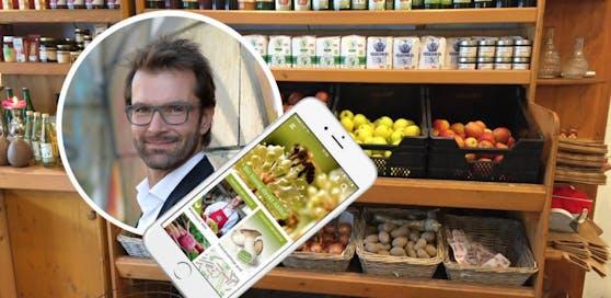 Die App verrät, wo man direkt am Bauernhof einkaufen kann.