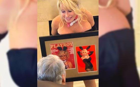 Dolly Parton und ihr nachgestelltes Cover