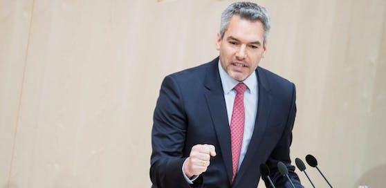 ÖVP-Innenminister Karl Nehammer.