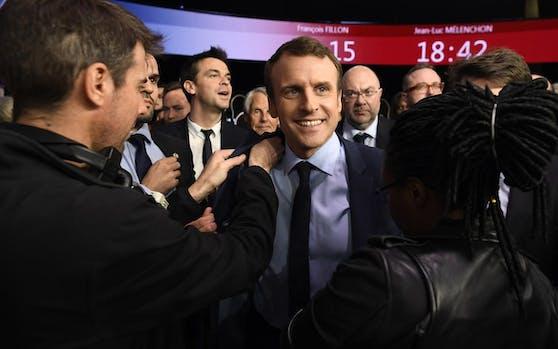 Frankreichs neuer Präsident Emmanuel Macron. Credit: Reuters