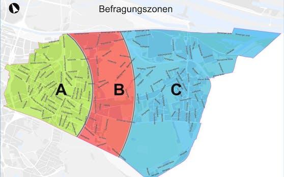 Jeder Bewohner stimmt für jene Zone ab, in der er lebt. So entscheiden die Simmeringer nicht über den gesamten Bezirk.
