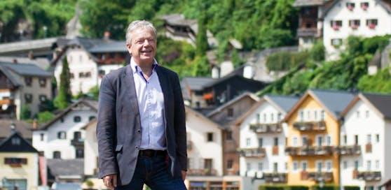 Hallstatt verzeichnet gerade einen Buchungsrückgang. Hallstatts Bürgermeister Alexander Scheutz sieht dennoch keinen Grund zur Panik.