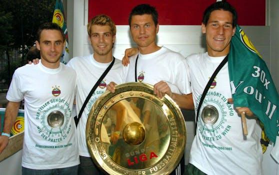 Ivanschitz holte mit Rapid in der Saison 2004/05 den Meistertitel.