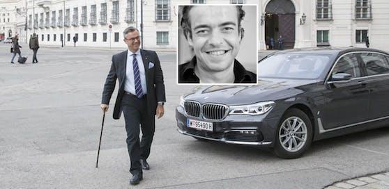 SP-Mitarbeiter Paul Pöchhacker (kl. Bild) hatte Norbert Hofer beleidigt.