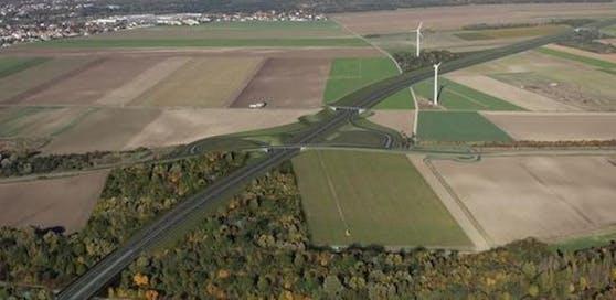 Ansicht: So soll die Marchfeld-Schnellstraße aussehen.