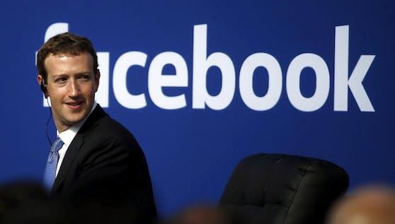 FB-Chef Mark Zuckerberg.