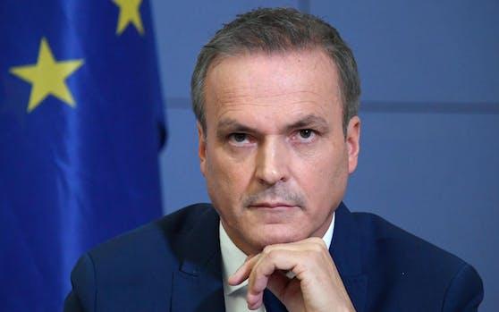 Finanzminister Eduard Müller.