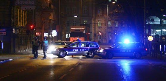Polizeieinsatz in Wien.