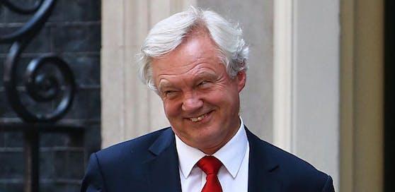 """David Davis, der eigens eingesetzte """"Brexit""""-Minister Großbritanniens ist zurückgetreten."""