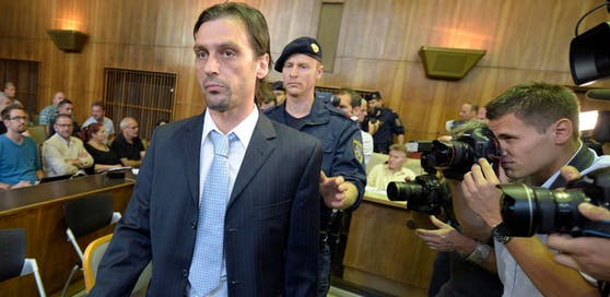 Sanel Kuljic vor Gericht.