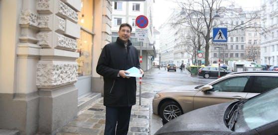 Bezirkschef Markus Figl (ÖVP) ist gespannt auf Termin mit Vizebürgermeisterin Maria Vassilakou (Grüne).