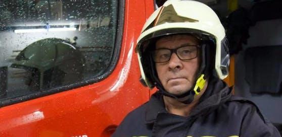 Franz Arbinger (62) meisterte im ersten Anlauf die Feuerwehrgrundausbildung bravourös.