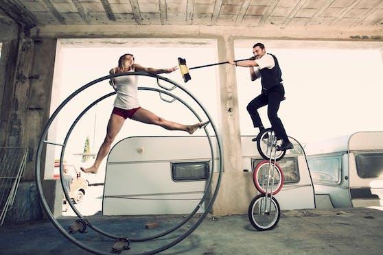 Artistik und Akrobatik gibt es beim Pflasterspektakel in Linz zu sehen.