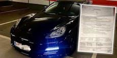 Porsche-Fahrer hört zu laut Musik – kassiert 500-€-Strafe