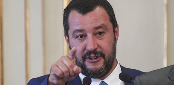 italiens Innenminister Matteo Salvini.