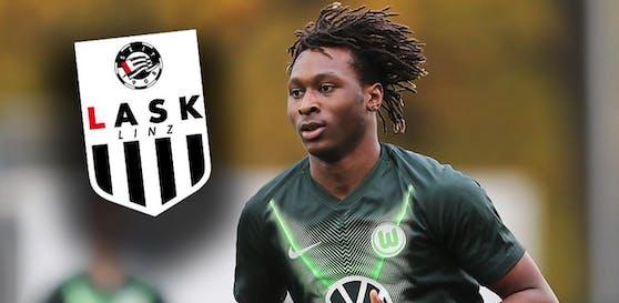 Wolfsburg-Stürmer Mamoudou Karamoko geht zum LASK, Rapid hatte ihn noch abgelehnt.