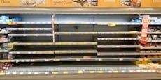 Massive Delta-Welle sorgt für leere Supermarkt-Regale