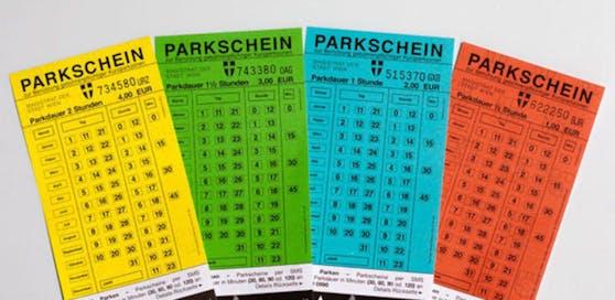 Bereits gekaufte, alte Wiener Parkscheine sind nun bis Ende des Jahres gültig.
