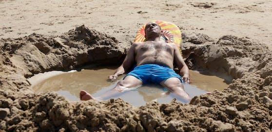 An der Adria herrscht am Wochenende perfektes Badewetter.