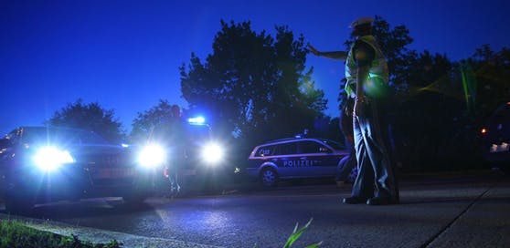 Die Polizei musste den aggressiven Autolenker schließlich festnehmen.