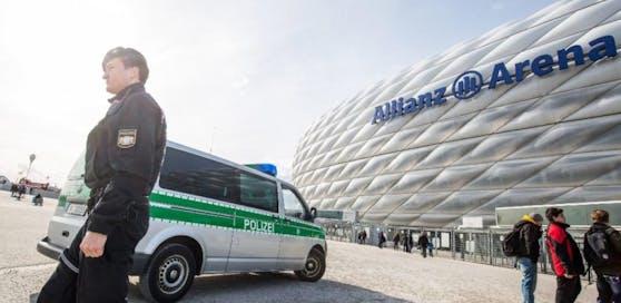 Die Allianz Arena in München. (Symbolbild)