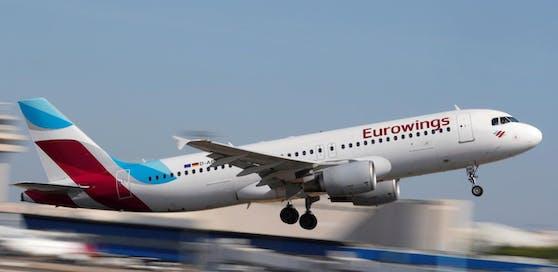 Ab März fallen beim Handgepäck und Check-In am Schalter bei Eurowings Zusatzkosten an.