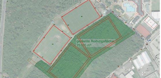 Das sind die genauen Pläne für die Rodungen beim Paschinger Waldbad.