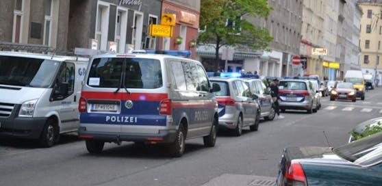 Polizei-Einsatz in Wien.