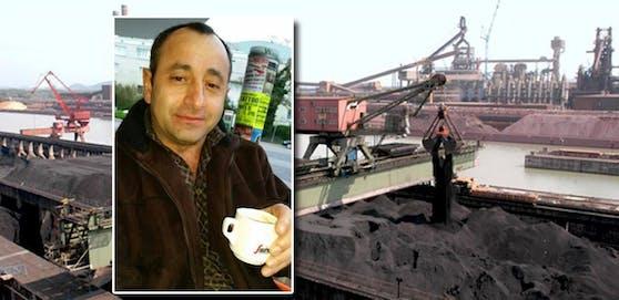 Der Arbeiter Yasar M. starb bei einem Unfall am VOEST-Gelände.