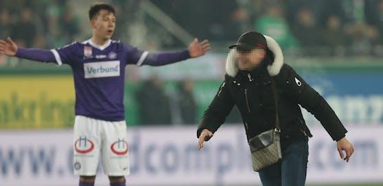 Dieser junge Flitzer soll Rapid 18.000 Euro Strafe zahlen. Das letzte Wort ist wohl noch nicht gesprochen.