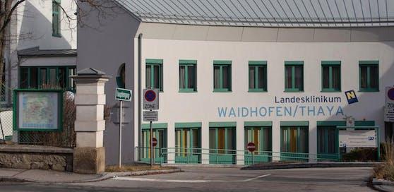 Das Spital in Waidhofen an der Thaya.