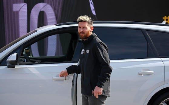 Lionel Messi fährt künftig nicht mehr mit einem Audi.