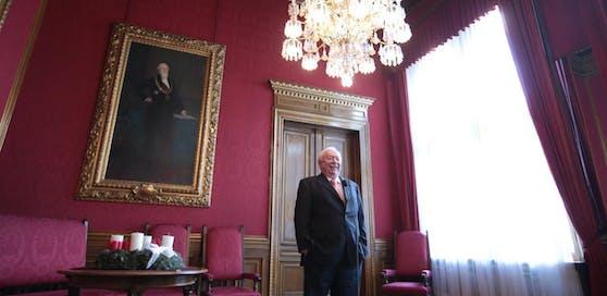 """Bürgermeister Michael Häupl im Rathaus: """"Wir werden genau schauen, wo wir uns wehren können."""""""