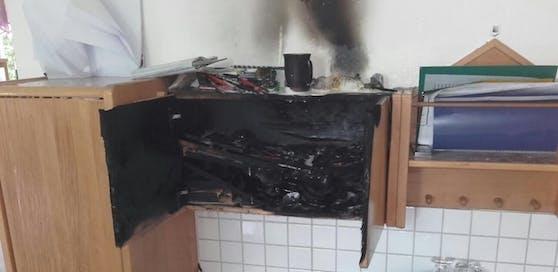 Die Ursache für den Brand ist noch nicht geklärt.