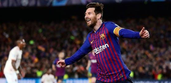 Spielt am 26. Oktober nicht gegen Real Madrid: FC Barcelona mit Superstar Lionel Messi.