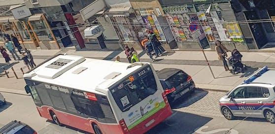 Die Wiener Polizei nahm den Unfall auf.