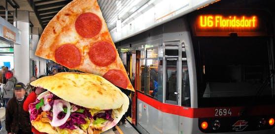 Pizza und Döner sollen in der U6 bald verboten sein.