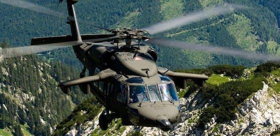 Ein Black-Hawk des österreichischen Bundesheeres. Archivbild.