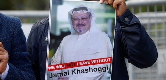 Nach dem Verschwinden von Khashoggi verlangten Demonstranten Aufklärung. Mittlerweile ist klar: Er ist tot.