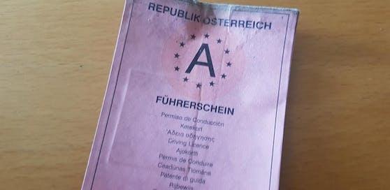 Symbolbild eines österreichischen Führerscheins.