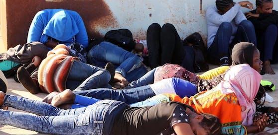 """Die Situation in Libyen sei """"unmenschlich""""."""