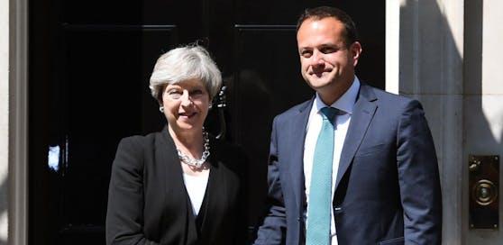 May traf am Montag den neuen irischen Premierminister Leo Varadkar. Dort wird eine Koalition mit der DUP nicht gerne gesehen.